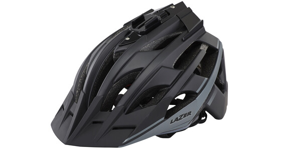 Lazer Oasiz Helm schwarz/grau matt